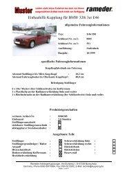Einbauhilfe Kupplung für BMW 320i 3er E46