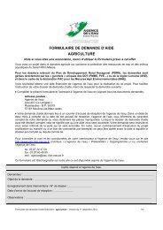 formulaire de demande d'aide agriculture - Agence de l'Eau Rhin ...