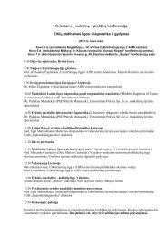 """praktinė konferencija """"Erkių platinamos ligos: diagnostika ir - Saulius ..."""