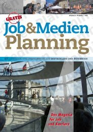 Jahrgang 17 - Ausgabe 4 - job-medienplanning.de