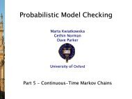 Continuous-Time Markov Chains - PRISM