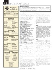 secretary's page - Parent Directory - American Kennel Club