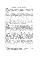 Errata and Updates for volumes I,II Vol. I. p. 308 2.1.10 Given L