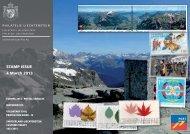 Stamp issue 4. March 2013 (19MB) - Philatelie Liechtenstein