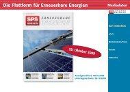 Erneuerbare Energien - SPS-Magazin