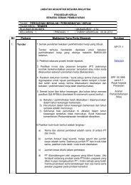Tender - Jabatan Akauntan Negara Malaysia