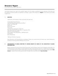 Notes to the Financial Statements - SingTel