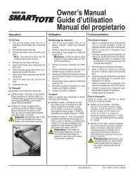 Owner's Manual Guide d'utilisation Manual del ... - Camping World