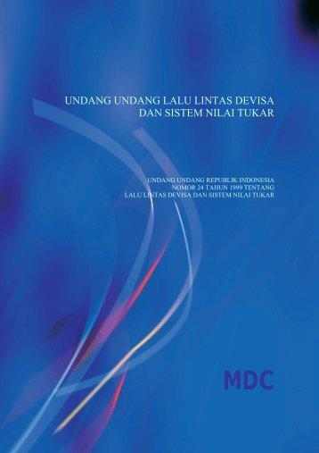 UNDANG UNDANG BANK INDONESIA