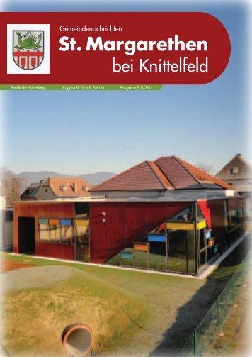 Ausgabe 91/2011 - St. Margarethen bei Knittelfeld