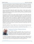 NARSC newsletter - North American Regional Science Council - Page 7