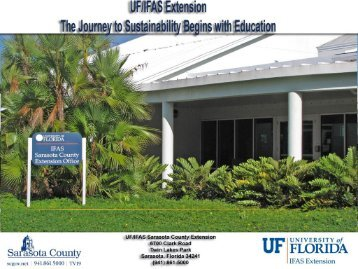 Part 2 - Sarasota County Extension - University of Florida