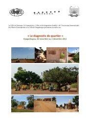 Descriptif de l'atelier - CIFAL Ouagadougou