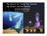 The Search for Cosmic Ray Sources and Recent IceCube Results