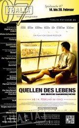 QUELLEN DES LEBENS - Thalia Kino