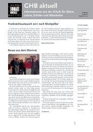 und Trödel- markt am 25.11.2011 - Gymnasium Hummelsbüttel