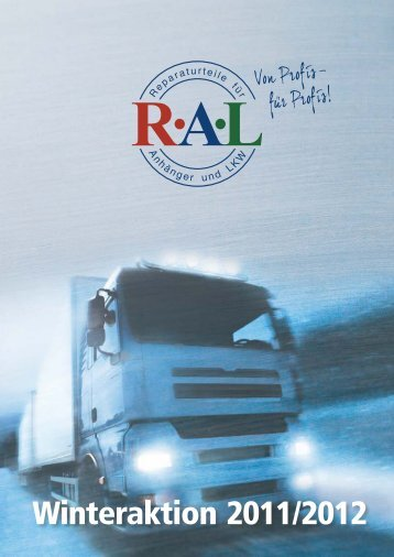 RAL Winteraktion 2011.cdr - RAL Handels GmbH
