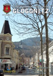 bildungsberatung niederösterreich - Stadtgemeinde Gloggnitz