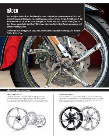 RÄDER - Harley Davidson Shop