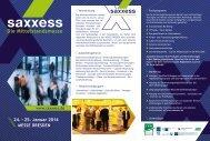 24. − 25. Januar 2014 - Saxxess.com