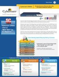 Cyberoam CR50ia Datasheet