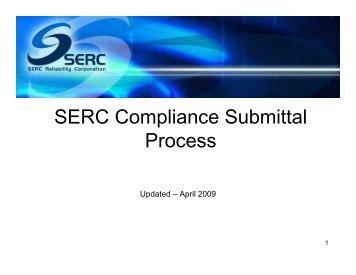 SERC Compliance Process (April 2009).pdf - SERC Home Page