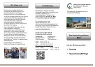 • Technik • Hauswirtschaft/Pflege Wir über uns ... - BBS-Holzminden