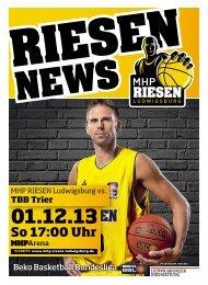 TBB Trier - MHP RIESEN Ludwigsburg
