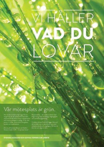 Folder (PDF-dokument, 2,8 MB) - Svenska Mässan