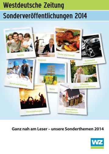 WZ SVÖ Übersicht 2014 (PDF / 9,47 MB) - Westdeutsche Zeitung