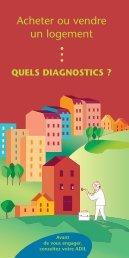 diagnostics obligatoires, avec l'ADIL