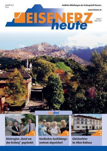 """Kleinregion """"Rund um den Erzberg"""" - Eisenerz"""
