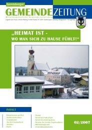 Gemeindezeitung 2/2007 (0 bytes) - Gemeinde Geretsberg