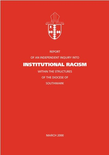 Racism Inquiry - The Diocese of Southwark