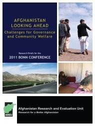AfghAnistAn LOOKing AhEAD - Ministry of Foreign Affairs