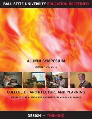 2012 Alumni Symposium - Ball State University