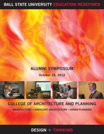 2012 Alumni Symposium - Ball State University