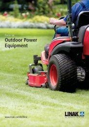 Outdoor Power Equipment Brochure - Linak