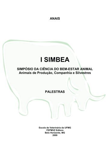 ANAIS I SIMBEA SIMPÓSIO DA CIÊNCIA DO BEM-ESTAR ... - ETCO