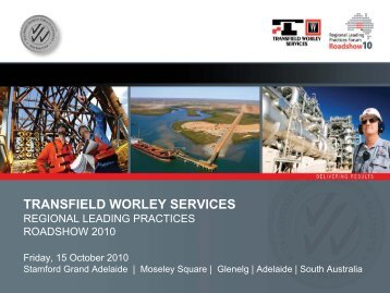 Streams - Transfield Worley