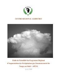 Etude de faisabilité (pdf 2,1 Mo) - CILSS