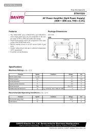 STK4152II AF Power Amplifier (Split Power Supply) (30W ... - Micropik