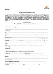 Allegato 1 Fac simile istanza di partecipazione - Milano Ristorazione