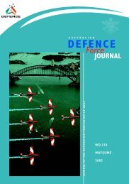 ISSUE 154 : May/Jun - 2002 - Australian Defence Force Journal