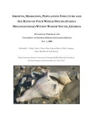 growth, migration, population structure and sex ratio of four whelk ...
