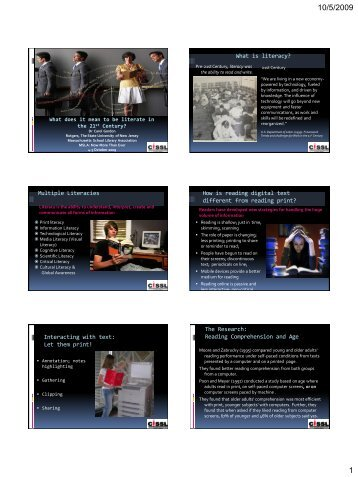 PowerPoint PDF - Massachusetts School Library Association