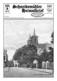 Schneidemühler Heimatbrief 5. Ausgabe - Heimatkreis Schneidemühl