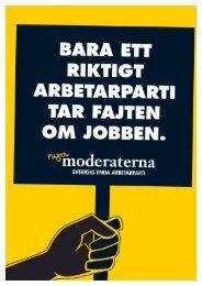 Ansvar för jobben - Moderaterna
