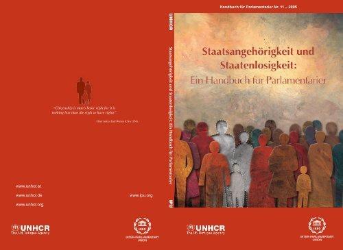 Staatsangehörigkeit und Staatenlosigkeit - Inter-Parliamentary Union