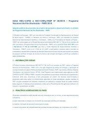 Edital MEC/CAPES e MCT/CNPq/FINEP Nº 28/2010 - Centro ...